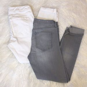 Lot of 2 BR cropped jeans size 26